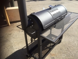 "16"" Bullockhead Creek BBQ - ""Hereford"" - Smoker & Grill"