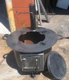 """16"""" Hereford Fire Pit - Grill"""